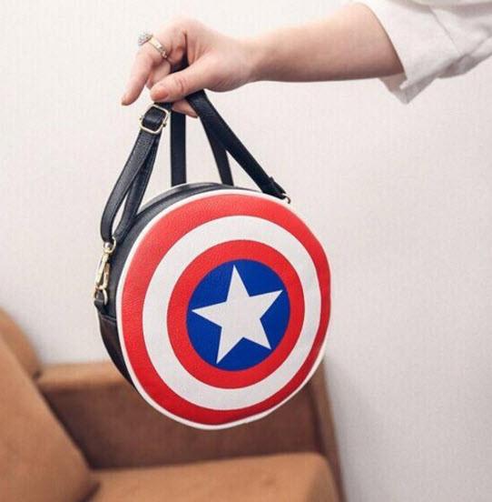8e503a50db38 Компактная сумка Щит Капитана Америки/первого мстителя - Интернет-магазин