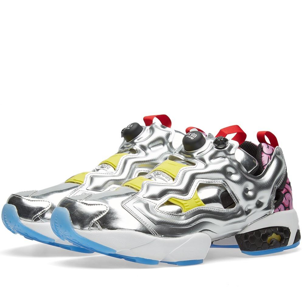new concept eb99b 11faf Оригинальные кроссовки Reebok Instapump Fury OG VP Silver Metallic   Black  - Sport-Sneakers -