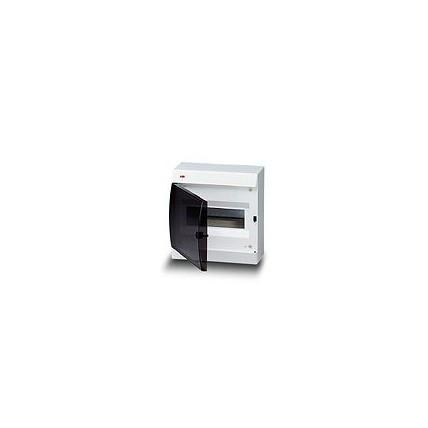 Unibox IP40 шафа накладної, 8 мод., непрозора двері, без клем, 215х220х105 мм, 12258