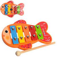 Деревянная игрушка Ксилофон MD 0942