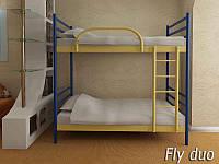Кровать металлическая Флай Дуо (FLY DUO) двухъярусная