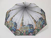 Женский зонт полуавтомат города