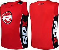 Майка бойцовская RDX red/black M, фото 1