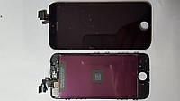 Дисплей  (экран) Apple iPhone 5 с черным сенсором high copy.