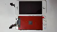 Дисплей  (экран) Apple iPhone 5S с белым сенсором high copy.