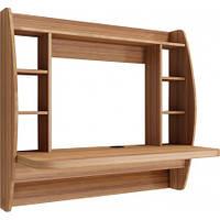 Навісний комп'ютерний стіл ZEUS AirTable-I LB (горіх)
