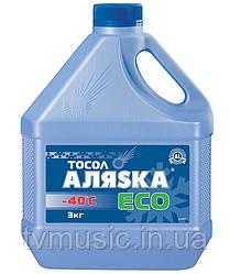 Тосол Аляска Эко А40 3 кг