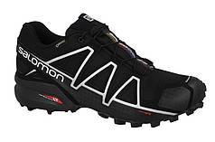 Мужские кроссовки SALOMON SPEEDCROSS 4 GORE-TEX (383181) черные