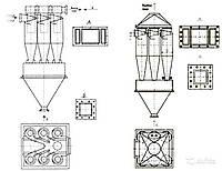 Циклоны ЦН-15х8УП, ЦН-15х8СП