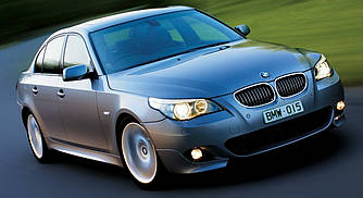 Накладки на пороги тюнинг обвес BMW E60 E61 стиль M Sports Package