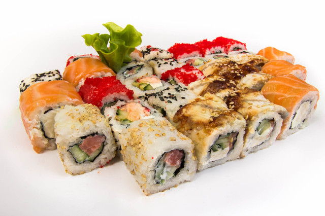 готовим роллы суши