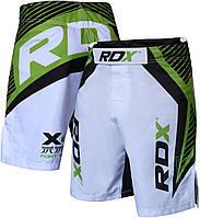 Шорты ММА RDX X4 Green M, фото 1