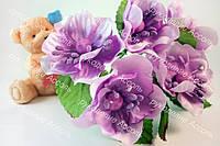 Цветы яблони 4см фиолетового цвета 2шт/уп