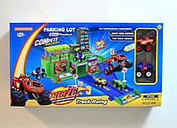 """Игровой набор """"Паркинг Вспыш и Чудо-машинки"""" ZY-656 blaze"""