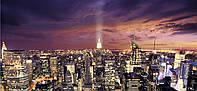 Картина панорамная ЭМПАЙР-СТЕЙТ-БИЛДИНГ. СИЯНИЕ