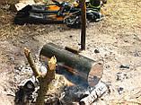 Коптильня походная (туристическая)диам. 250мм, фото 6