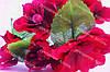 Цветы яблони 4см малинового цвета 2шт