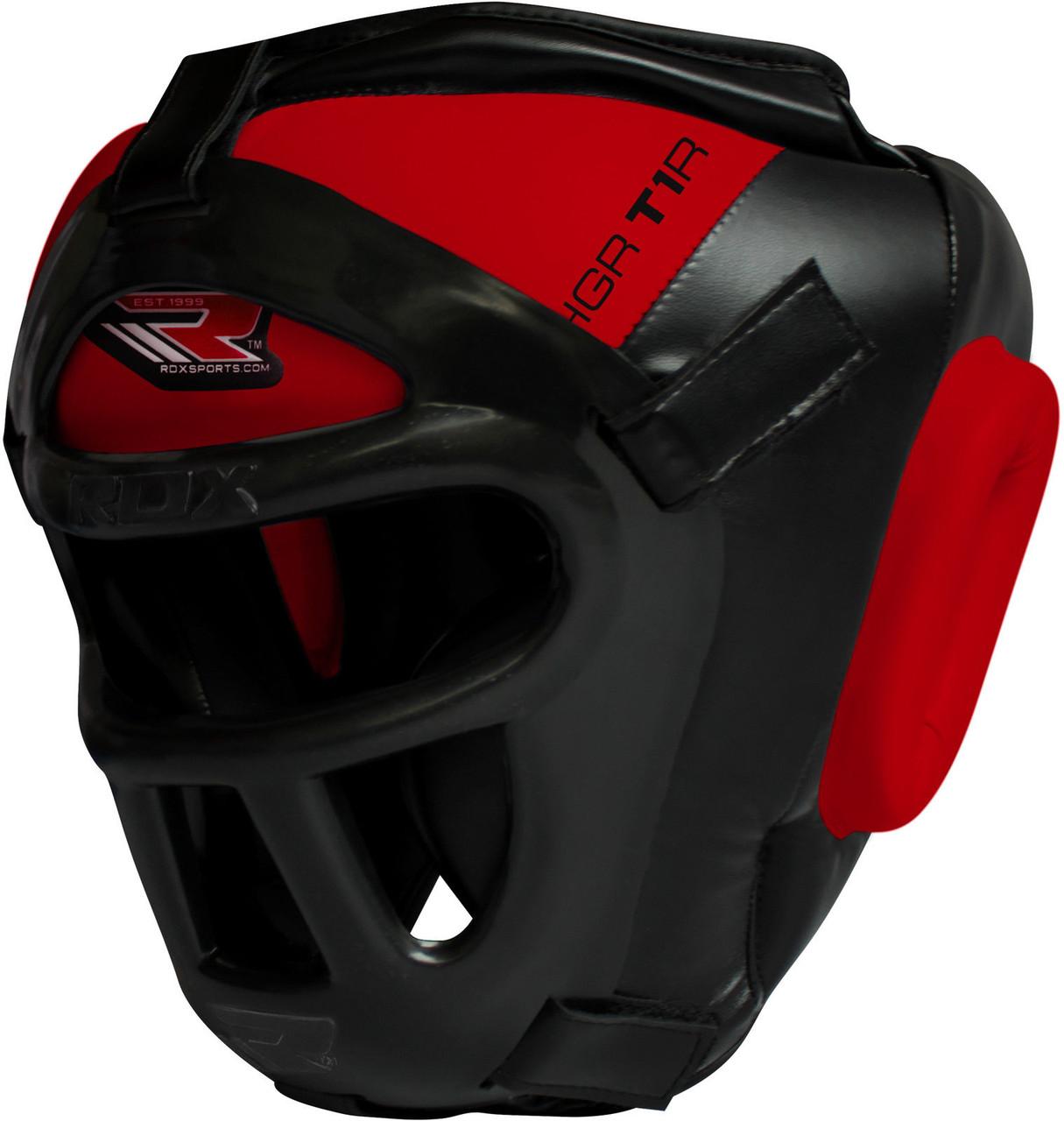 Шлем боксерский RDX COMBOX red XL