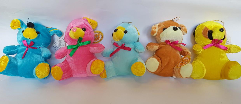 Набор игрушек из 5-ти животных (18 см)