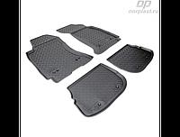 Коврики в салон  Audi A4 (B5,8D) (95-01) (полиур., компл - 4шт)