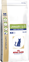 Royal Canin Urinary S/O High Dilution UHD34 для кошек при мочекаменной болезни 400 г