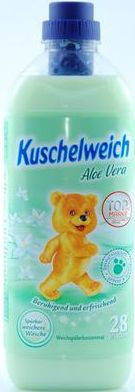 Ополаскиватель-концентрат Kuschelweich Aloe Vera 1 л/28 стирок, фото 2