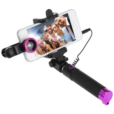 Монопод Selfie Stick JR-239 + линзы для смартфона
