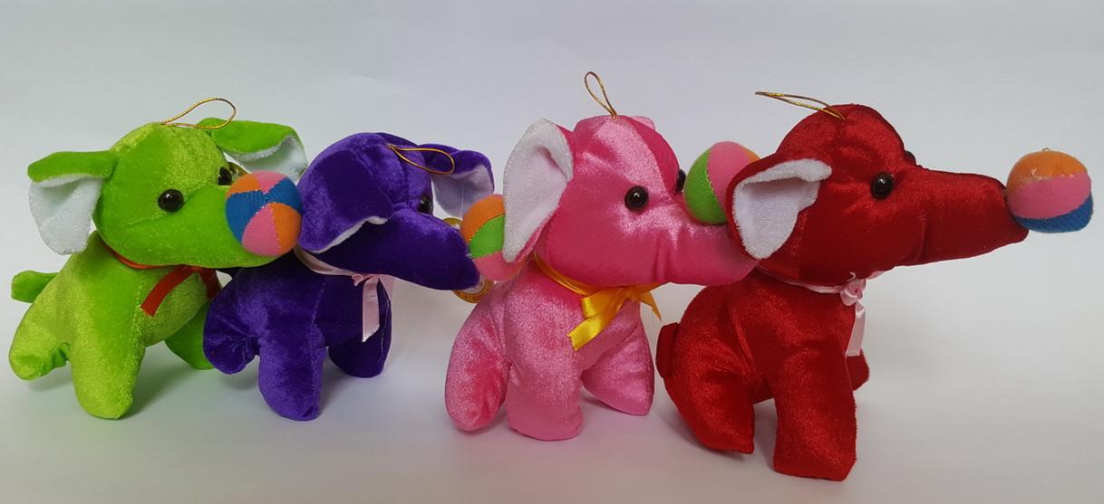 Игрушка цирковой слон (15 см)