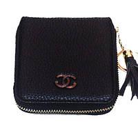 Кошелек барсетка Chanel (Шанель) 08-4988 кожзам черный
