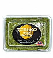 Икра Тобико Икко летучей рыбы Вассаби (зеленая)замороженная 0,5кг