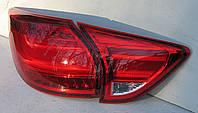 Mazda CX-5 оптика задняя тюнинг, фонари LED красные / taillights CX-5 red LED