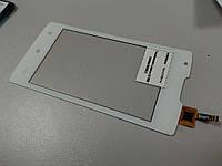 Тачскрин (сенсор) для мобильного телефона Lenovo A1000 (white) Original