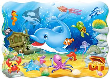 """Пазлы Castorland B-03501 """"Подводные друзья"""" на 30 элементов (B-03501)"""