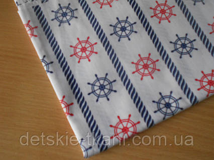Лоскут ткани №251а размером 26*78 см