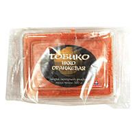 Икра Тобико Икко летучей рыбы оранжевая замороженная 0,5кг