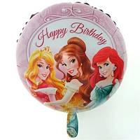 Воздушный фольгированный шар 3 Принцессы