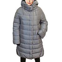 Зимняя женская куртка утепление холлофайбер.