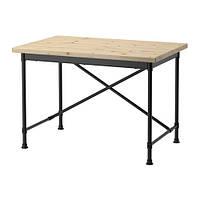 """IKEA """"КУЛЛАБЕРГ"""" Письменный стол, сосна, черный"""