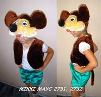 Детский карнавальный костюм Микки Маус 3-5 лет