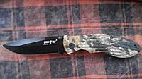 Нож складной E-29 камуфляжный тактический Армейский