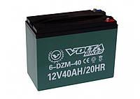 Тяговые свинцово-кислотные аккумуляторы AGM 12 V 40AH  Volta