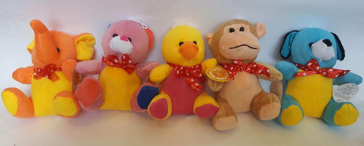 Набор игрушек из 5-ти животных (19 см)