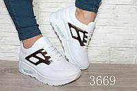 Модные сникерсы белые и черные