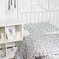 Детское постельное белье Носорожки серые (100% хлопок)