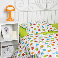 Детское постельное белье Овечки цветные (100% хлопок), фото 1