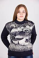 Кашемировый черный свитерок