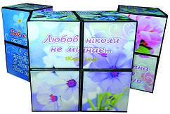 "Кубик-трансформер ""Жіночий"" №4"