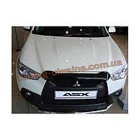 Защита фар Sim для Mitsubishi ASX Кроссовер 2010-12 прозрачный 2010