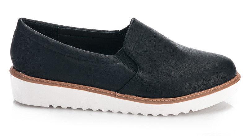 Туфли слипоны криперсы