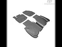 Коврики в салон  Honda Honda Civic 5D (EU) (12-) (полиур., компл - 4шт)